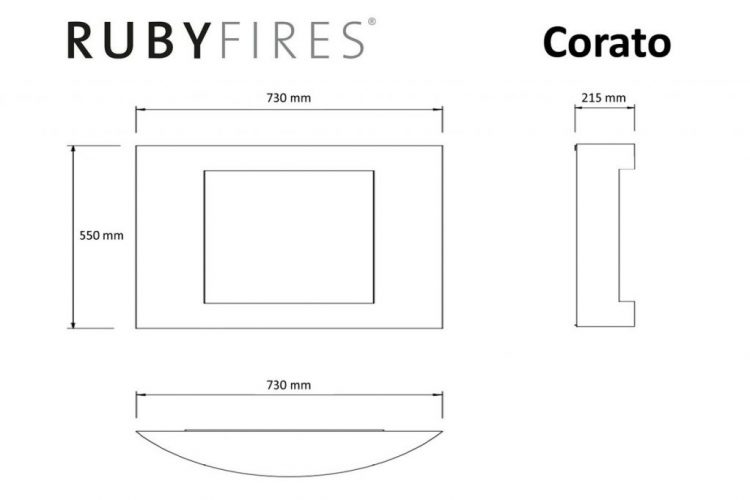 biokominek Rubyfires Corato