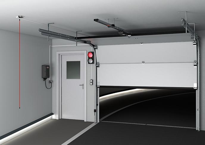 Napędy do bram garaży podziemnych tiga/tiga+
