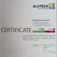 certyfikat alutech-min
