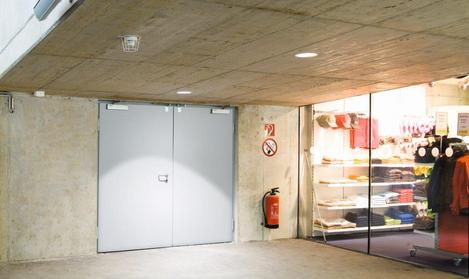 Drzwi stalowe o odporności ogniowej 90 minut